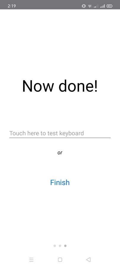 Screenshot of Prim Keyboard Download