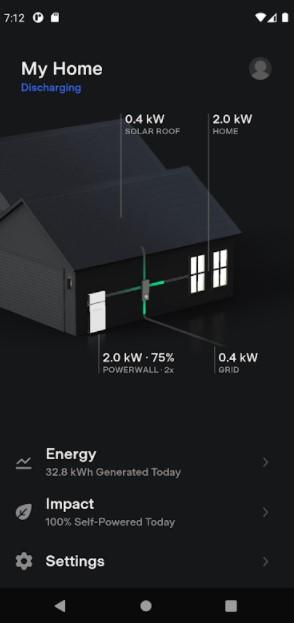 Screenshot of Tesla App Apk