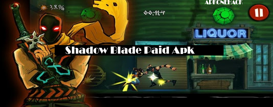 Shadow Blade Apk + OBB Data [Full Paid] 1.5.1 Android Download by Crescent Moon Games