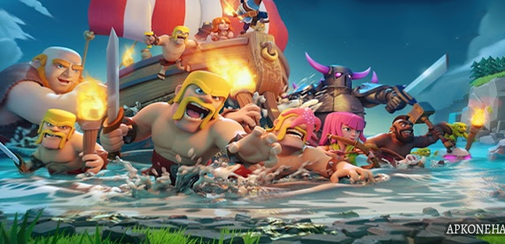 Clash of Clans MOD Apk [Unlimited Gold,Elixir,Gems] 11.185.15 Android Download by Supercell