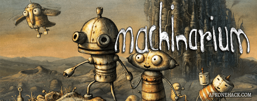Machinarium Apk + OBB Data [Full Paid] 2.5.4 Android Download Amanita Design