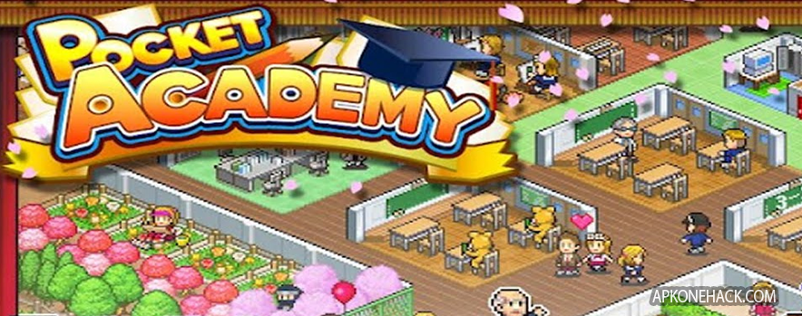Pocket Academy Apk + Mod [Full Paid + Unlimited Money] v2.0.6 Android Download by Kairosoft Co.,Ltd
