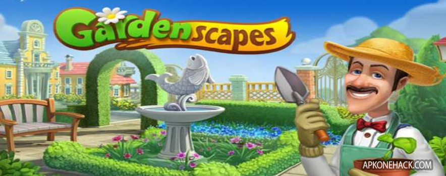 Gardenscapes – New Acres MOD Apk [Unlimited Money] v2.3.2 Android Download Playrix Games