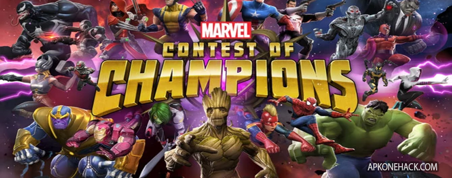 MARVEL Contest of Champions MOD Apk + OBB Data [High Damage] v21.1.1 Android Download Kabam