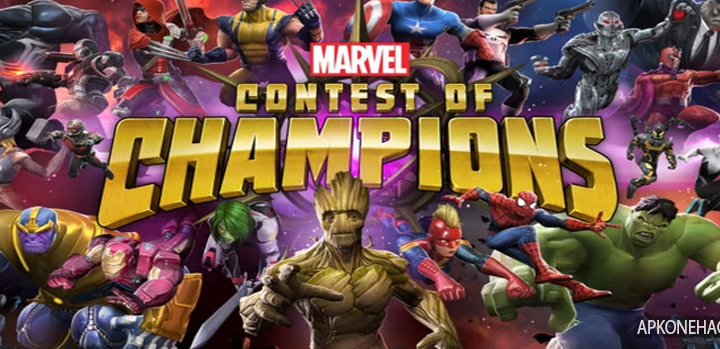 MARVEL Contest of Champions MOD Apk + OBB Data [High Damage] v17.1.5 Android Download Kabam