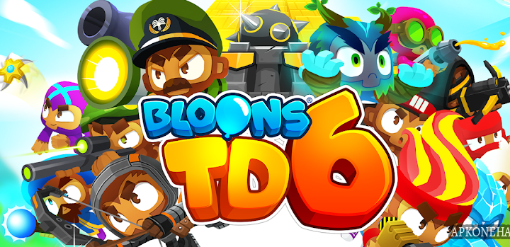 Bloons TD 6 Apk + MOD [MEGA Hacks] v1.5 Android Download by ninja kiwi