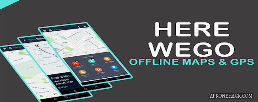 HERE WeGo – Offline Maps & GPS MOD Apk [Ads Free] v2.0.12443 Android Download by HERE Apps LLC