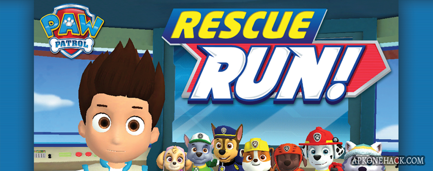 PAW Patrol Rescue Run HD mod apk android