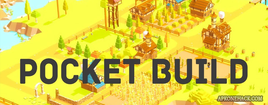 Pocket Build MOD Apk + OBB Data [Full] v1.9.85 Android Download by MoonBear LTD