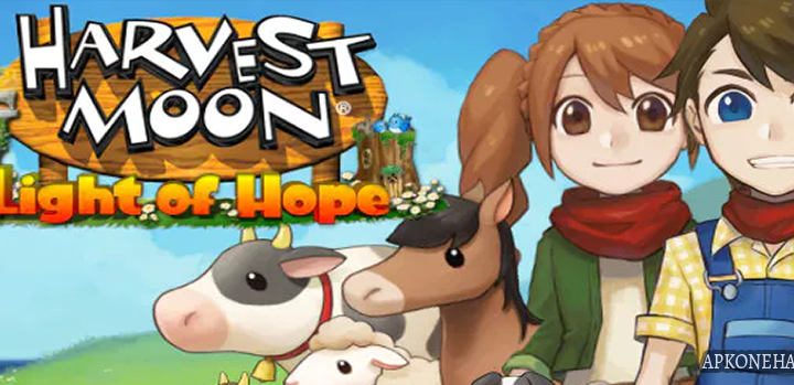Harvest Moon: Light of Hope Apk + OBB Data [Full] v1.0.0 Android Download by Natsume Inc