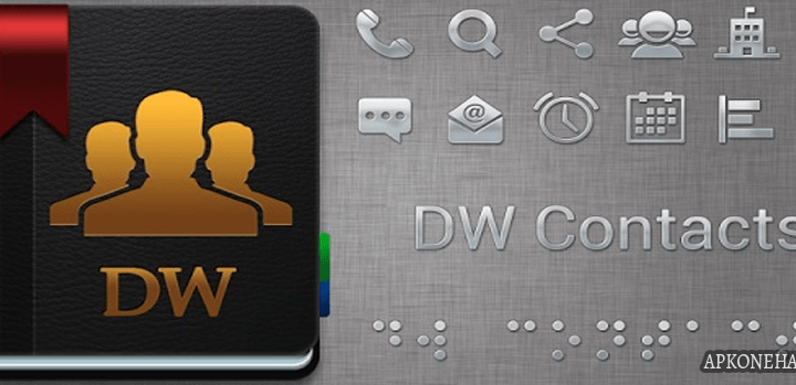 DW Contacts & Phone & Dialer full apk