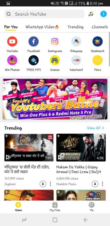 download snaptube android
