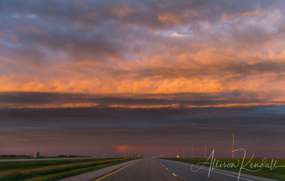 Living Skies of Saskatchewan, sunset