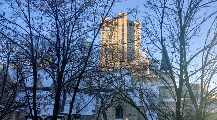 Winter light, Winnipeg, Manitoba