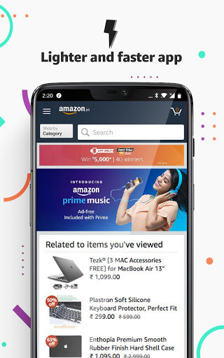 Amazon India Online Shopping and Payments 18.9.0.300 screenshots 1