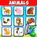 Download Animal sounds for babies. Learning animals free 4.8 APK For Android
