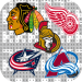 Download Paint by Number Ice Hockey Logo:Pixel Art Coloring 3.5 APK For Android