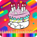Download Birthday Cake Coloring Book 4.0 APK For Android