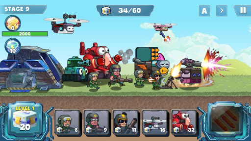 Defense War 1.0.0.65 screenshots 1