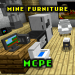 Download Mine Furniture Addon MCPE 1.0 APK For Android
