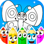 Coloring games : coloring book 1.3.4