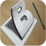 How to Draw 3D – 3D shapes drawing 10.0