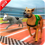 Download Crazy Wild Dog Racing Fever Sim 3D – Dog Race 2019 1.3 APK For Android