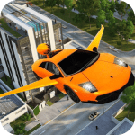 Download Flying Car  Game 3D 1.0.0 APK For Android