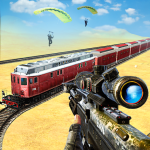 Download New Sniper 3d -Train Gun Shooter Free Game 2020 1.0 APK For Android