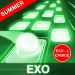 Download EXO Hop: Obsession KPOP Music Rush Dancing Tiles! 4.0.0.5 APK For Android