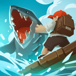 Download Epic Raft: Fighting Zombie Shark Survival 0.6.16 APK For Android