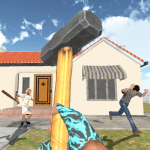 Download Granny Kick Neighbor – New Free Fun Shooting Games 5.3 APK For Android