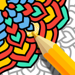 Download Mandala Coloring Book – Free Adult Coloring Pages 1.14 APK For Android