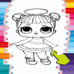 Download Tap to Color – Coloring Dolls Dolls LOL 1.0 APK For Android