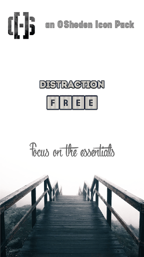 Distraction Free Icon Pack 22.0 screenshots 1