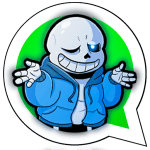 Download Stickers : Sans and Undertale for Whatsapp 6.0 APK For Android