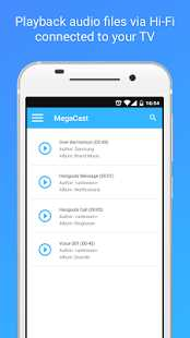 MegaCast – Chromecast player 3