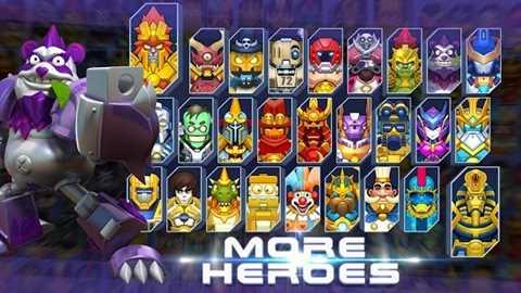 Herobots – Build to Battle 3