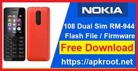 Nokia 108 Flash File Logo