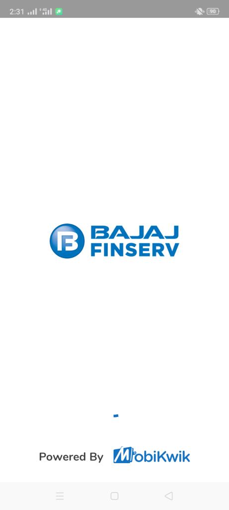 Screenshot of Bajaj Wallet
