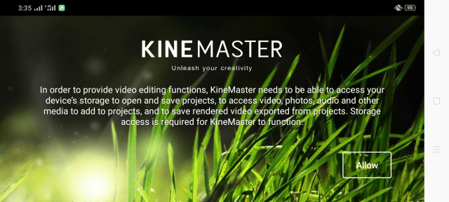 Screenshot of Kinemaster X Pro Apk