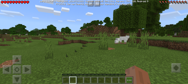 Screenshot of Minecraft PE Beta For Android