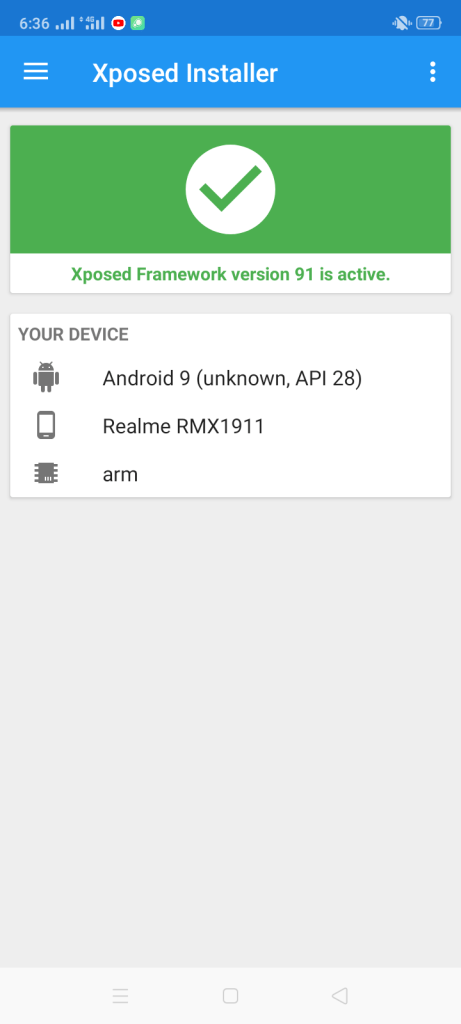 Screenshot of Virtual Xposed Apk