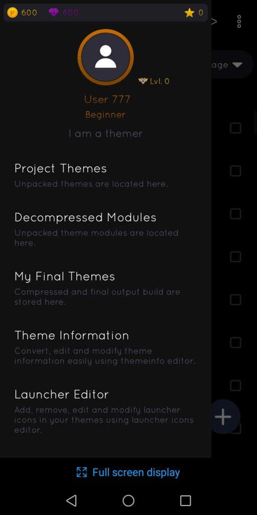 Screenshot of iMOD Pro App