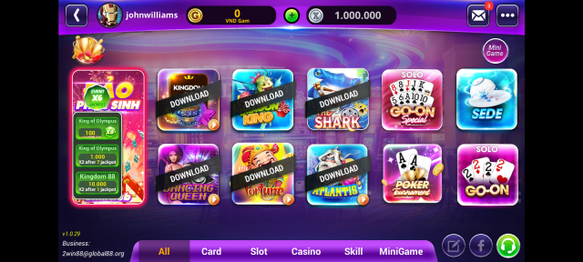 Screenshot of Game GamVip For Android