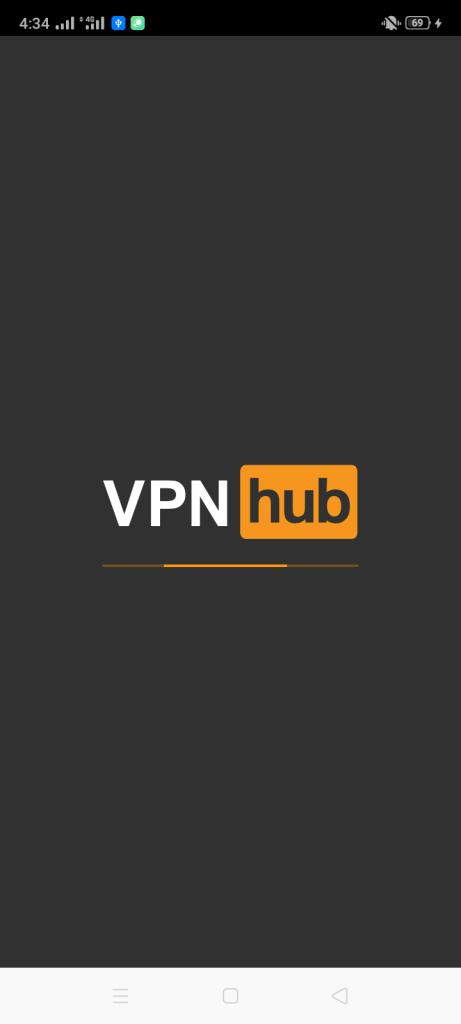 Screenshot of VPNHub Mod
