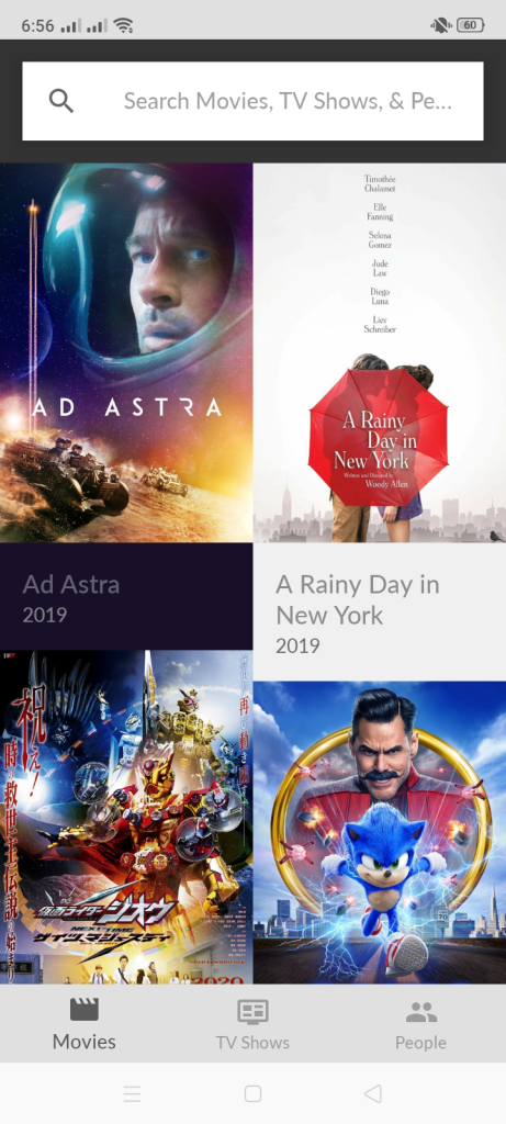 Screenshot of Afdah Movies Apk