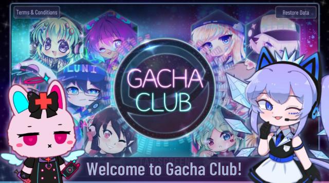 Screenshot of Gacha Club APK