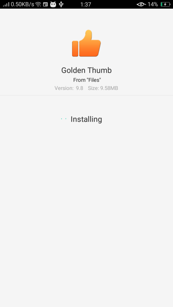 Screenshot-of-Golden-Thumb-For-Android