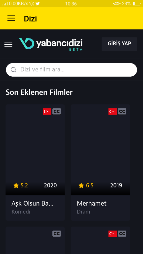 Screenshot-of-Exxen-TV-For-Android